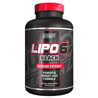 Жиросжигатель Nutrex NR Lpo 6 Black 120 liqui-caps