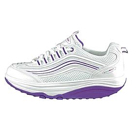 Кроссовки бело-фиолетовые WalkMaxx