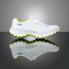 Кроссовки ультралегкие бело-зеленые WalkMaxx - фото 1