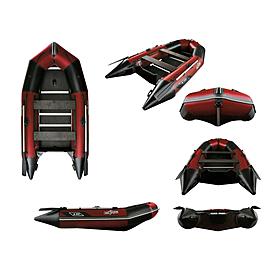 Лодка надувная моторная Aquastar К-350 red