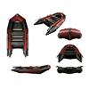 Лодка надувная моторная Aquastar К-350 red - фото 1