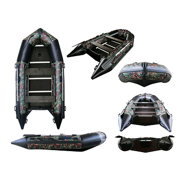 Лодка надувная моторная Aquastar К-370 camo