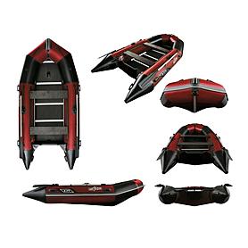 Лодка надувная моторная Aquastar К-370 red