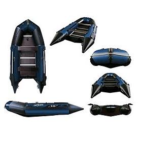 Фото 1 к товару Лодка надувная моторная Aquastar К-400 blue