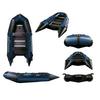 Лодка надувная моторная Aquastar К-400 blue - фото 1