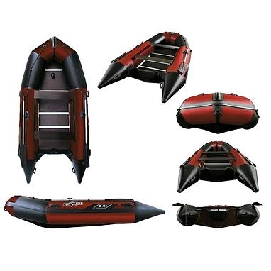 Лодка надувная моторная Aquastar К-400 red