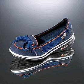 Мокасины синие WalkMaxx