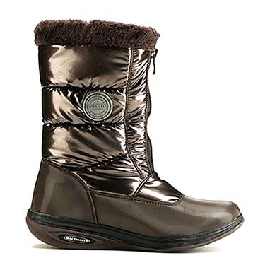 Сапожки зимние на молнии, коричневые WalkMaxx