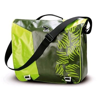 Сумка Salewa Spike Messenger зеленая