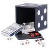 Набор игр 5 в 1: карты, шахматы, шашки, домино, кости - фото 1