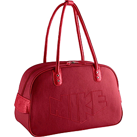 Фото 1 к товару Сумка женская Nike Heritage 76 Print Shoulder Clu красный BA4646-605