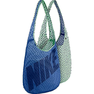Сумка женская Nike Graphic Reversible Tote синий с зеленым