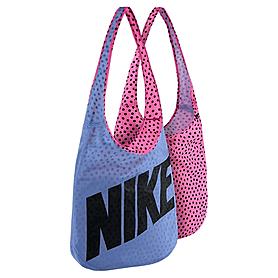 Фото 1 к товару Сумка женская Nike Graphic Reversible Tote голубой с розовым