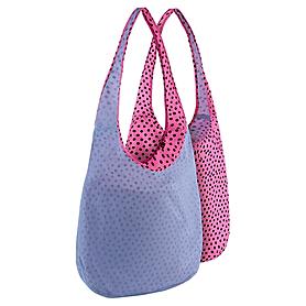 Фото 2 к товару Сумка женская Nike Graphic Reversible Tote голубой с розовым