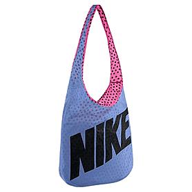 Фото 5 к товару Сумка женская Nike Graphic Reversible Tote голубой с розовым
