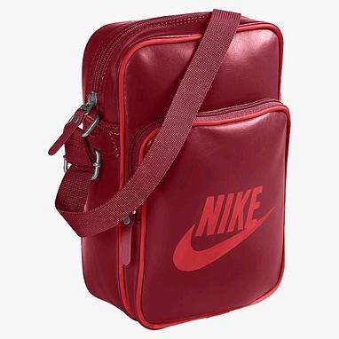 Сумка мужская Nike Heritage Si Small Items II бордовый