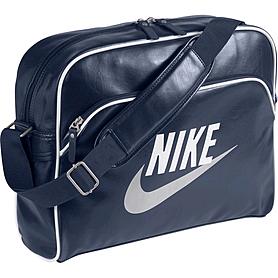Фото 1 к товару Сумка мужская Nike Heritage Si Track Bag темно-синий