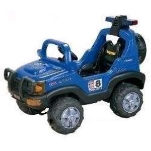 Электромобиль детский джип Baby Tilly BT-BOC-0047 Blue