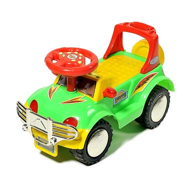 Каталка-толокар машина Baby Tilly  H-08-IC зеленый
