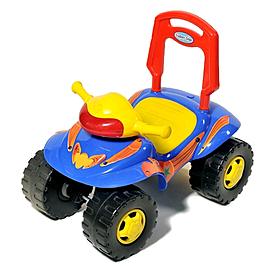 Фото 1 к товару Каталка-толокар машина Baby Tilly H-11-IC синий