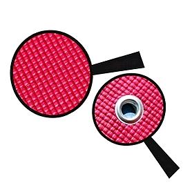 Фото 3 к товару Коврик для йоги (йога-мат) с отверстиями TapiGym Sveltus 5 мм красный