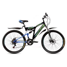 """Велосипед горный Premier Legion Disc - 26"""", рама - 18"""", черно-голубой (TI-14297)"""