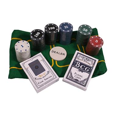 Набор для игры в покер (120 фишек) TC04120