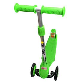 Фото 1 к товару Самокат трехколесный с наклоном руля 21st Scooter Z-99 зеленый