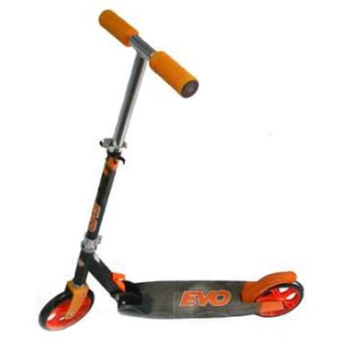Самокат двухколесный Scooter EVO колеса оранжевый