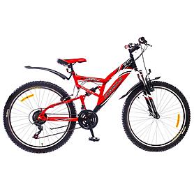 """Велосипед горный Formula Berkut 26"""" 2015 черно-красный рама - 18"""""""