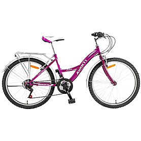 """Велосипед городской женский Avanti Elite 24"""" розовый рама - 15"""""""