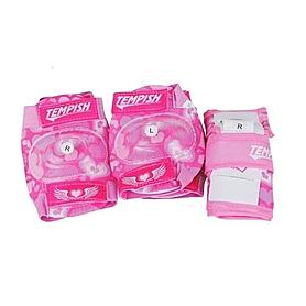 Фото 1 к товару Защита для катания детская (комплект) Tempish Meex pink