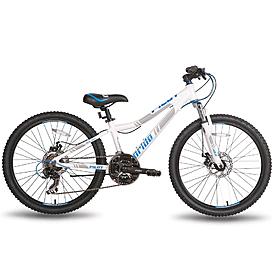 Фото 1 к товару Велосипед подростковый горный Pride Pilot 24'' бело-синий матовый 2015