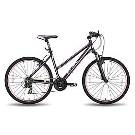 Фото 1 к товару Велосипед горный женский Pride Stella 26'' чёрно-розовый матовый 2015 рама - 16