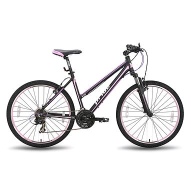 Велосипед горный женский Pride Stella 26'' чёрно-розовый матовый 2015 рама - 18