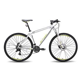 Фото 1 к товару Велосипед горный Pride XC-26 MD 26'' бело-зелёный матовый 2015 рама - 15