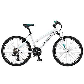 """Велосипед подростковый горный GT Laguna girls 24"""" 2015 gloss white"""