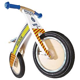 """Беговел детский Kiddi Moto Kurve 12"""" (карвэ) полицейская машина"""