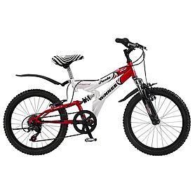 """Велосипед детский Winner Panda - 20"""", рама - 13,5"""", красно-белый (932-664-3)"""