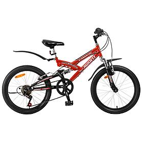 """Велосипед детский Avanti Tiger - 20"""", рама - 20"""", красный (RA04-804-RED-K)"""