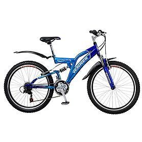 """Велосипед детский Winner Lucas - 24"""", синий (849-894)"""