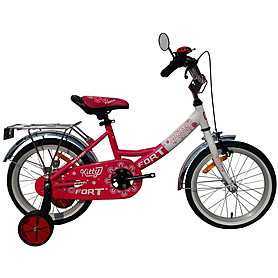 """Велосипед детский Fort Kitty 16"""" розово-белый"""