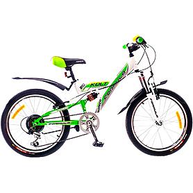 """Велосипед подростковый горный Formula Kolt 2015 - 20"""", рама - 13"""", бело-зеленый (PCT*-FR-20-004-1)"""