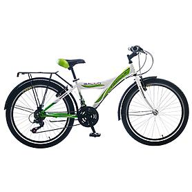 """Велосипед подростковый горный Formula Gallo 2015 - 24"""", рама - 13"""", бело-зеленый (PCT*-FR-24-007-1)"""