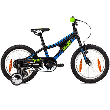 Велосипед детский Ghost Powerkid  2013 Boy Green/Blue 16