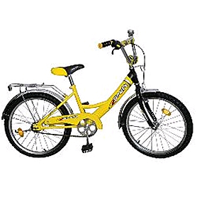 """Велосипед детский Profi 20"""" желтый"""