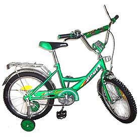 """Велосипед детский Profi 18"""" зеленый"""