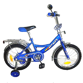 "Велосипед детский Profi 16"" синий"