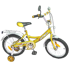 """Велосипед детский Profi 16"""" желтый"""