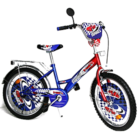 """Велосипед детский Baby Tilly Formula 20"""" синий с красным"""